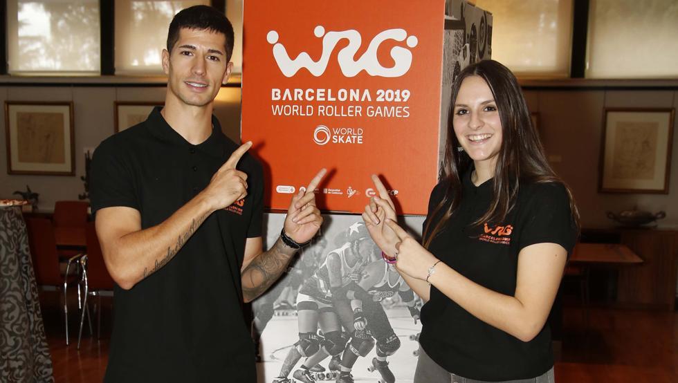 Los World Roller Games de Barcelona reunirán a 4.500 deportistas