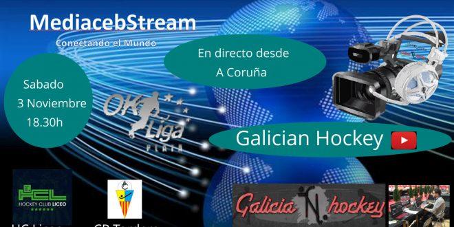 RETRANSMISIÓN EN DIRECTO OK Liga Plata HC Liceo – CP Tordera JOR.3 (3-11-18)
