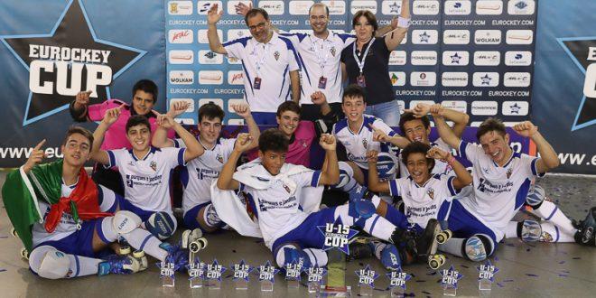 El CD Paço de Arcos, campeón del Eurockey Cup U15