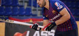 Un jugador portugués del Barça de hockey patines despierta admiración contestando en catalán