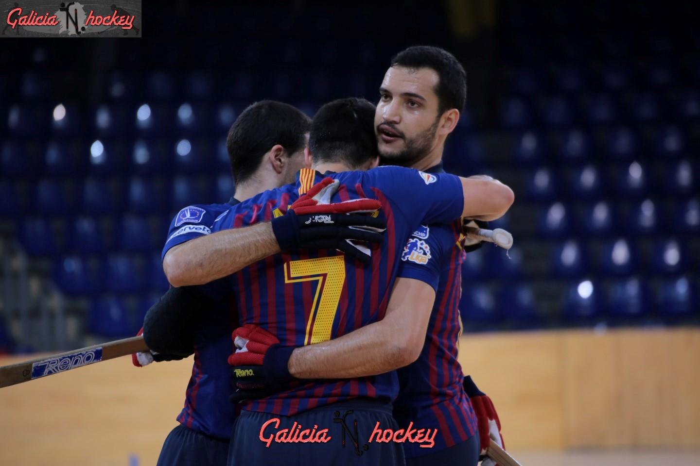 Barça Lassa y Telecable Hockey Club, campeones de invierno de las mejores ligas del mundo