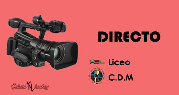 RETRANSMISIÓN EN DIRECTO LIGA GALLEGA JUNIOR: LICEO – CDM JOR.12 (2-12-18)