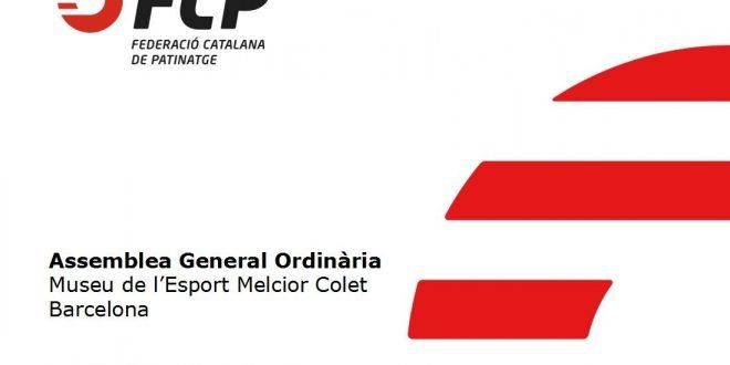 El Museo Melcior Colet de Barcelona acoge este miércoles la Asamblea General Ordinaria de la FCP