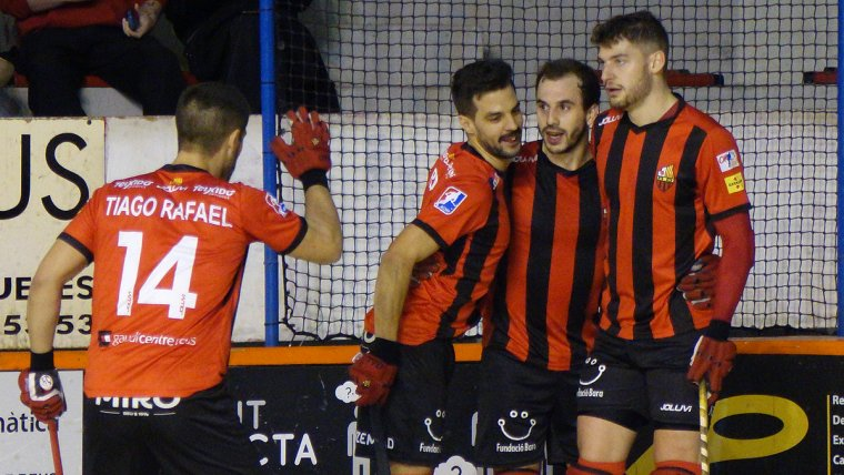 El Reus Deportiu Miró aplasta al Caldes en un partido perfecto