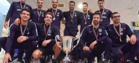 El Barça Lassa ya saborea en casa la Copa Intercontinental