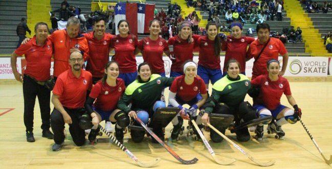Las «Marcianitas» alcanzaron la final del Panamericano de hockey patín tras golear a Colombia