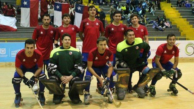 La Roja masculina de hockey patín sufrió una remontada de Argentina que le costó el título Panamericano