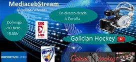 Domingo 20 de Enero en directo a las 13.00 h                Ok Liga Femenina