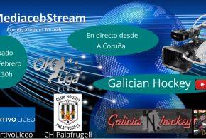Hoy a las 18.30 h en directo desde A Coruña Ok Liga Plata