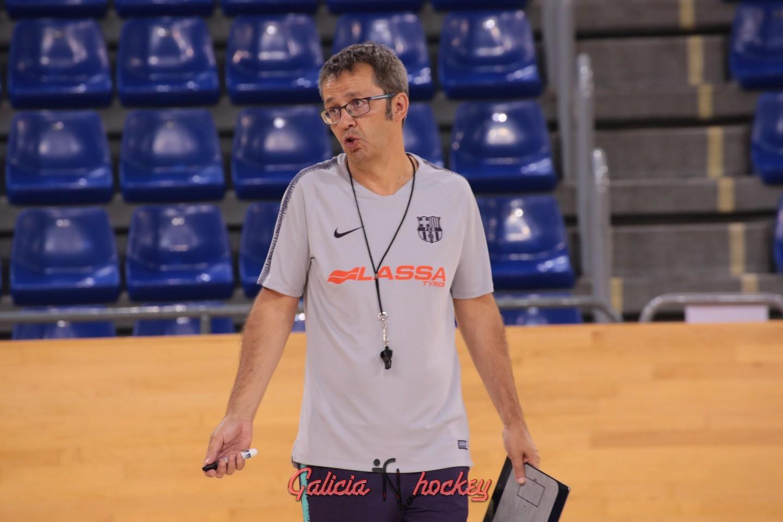Edu Castro renueva como entrenador del Barça Lassa hasta 2022