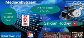 Sabado 23 Marzo 17.00h      OK Liga Femenina  Deportivo Liceo – CP Alcorcon