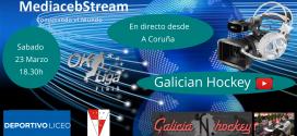 Sabado 23 Marzo 18.30h      OK Liga Plata Deportivo Liceo – Shum Frit Ravich