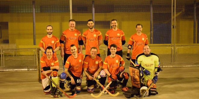 Los veteranos de Salamanca de hockey, campeones del Torneo Supersenior de Madrid