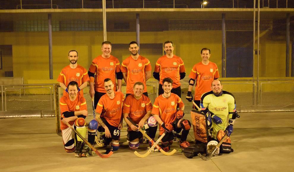 Los veteranos de Salamanca de hockey, campeones del Torneo Supersenior de Madrid