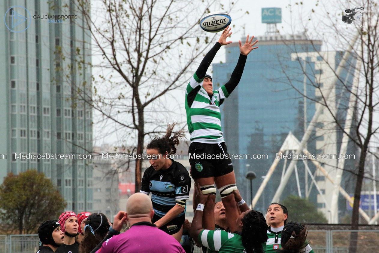 Galería Fotográfica Copa Iberica de Rugby Fem -Crat – Sporting de Portugal ( 10/11/2019 )