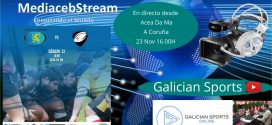 Rugby Liga gallega masculina : CRAT Coruña – Santiago R.C.