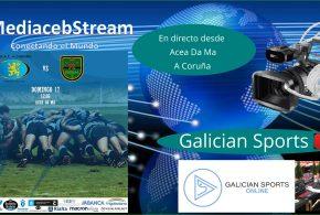 Liga Gallega Masculina de Rugby : CRAT Coruña – Muralla R.C