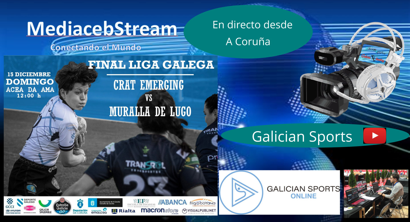 Rugby Final liga Gallega Femenina : CRAT Coruña «B» – Muralla R.C.