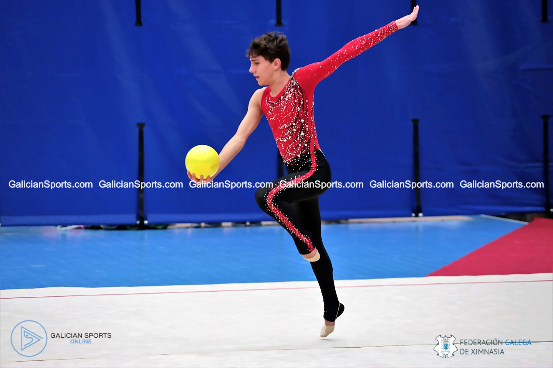 Galería Fotográfica (10.15h-10.31h) Campeonato Galego de base Individual Ximnasia Ritmica y Control Copa España Ximnasia Ritmica Masculina (22/02/2020)