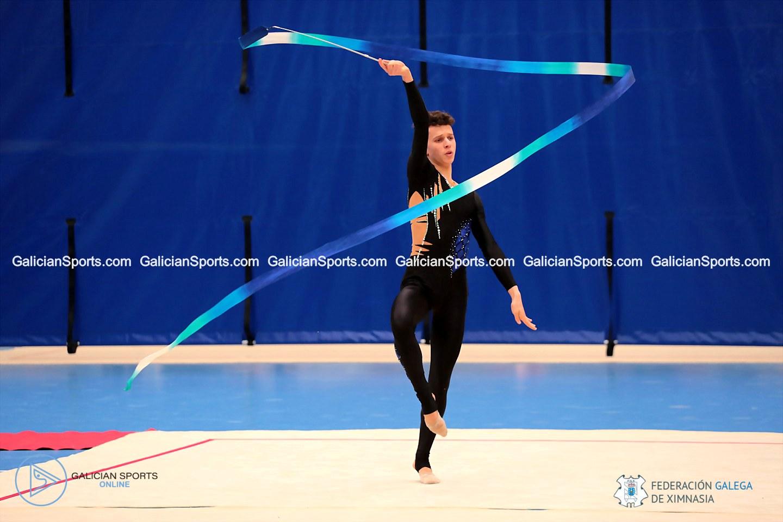 Galería Fotográfica (12.15h-12.22h) Campeonato Galego de base Individual Ximnasia Ritmica y Control Copa España Ximnasia Ritmica Masculina (22/02/2020)