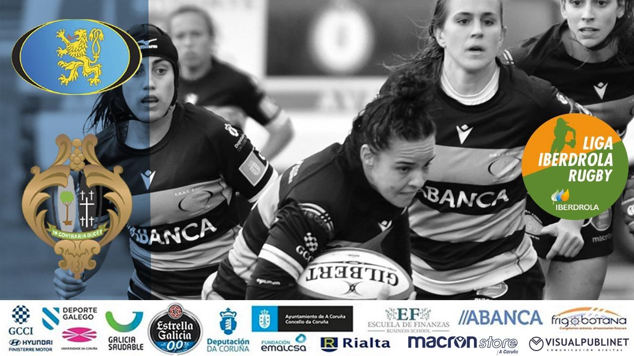 Liga Iberdrola de rugby : CRAT Residencia RIALTA – Crealia El Salvador