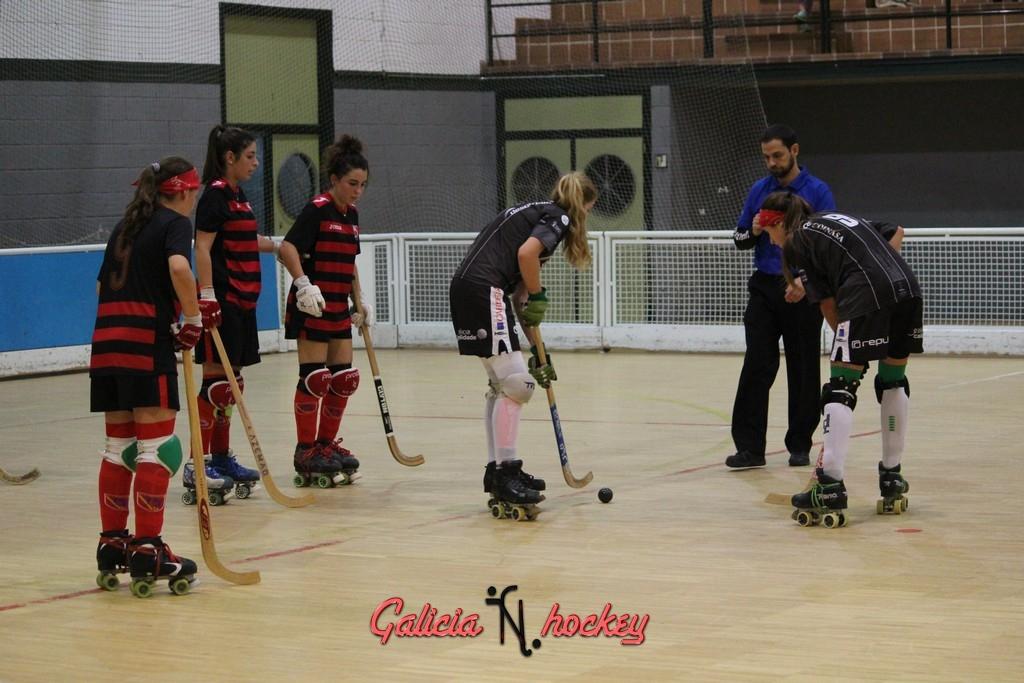 Partido de Liga Femenina Copa 30 Octubre  2015 Entre el H.C.Borbolla y H.C.Liceo