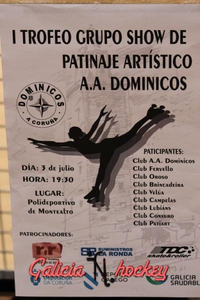 Trofeo grupo show de patinaje artístico