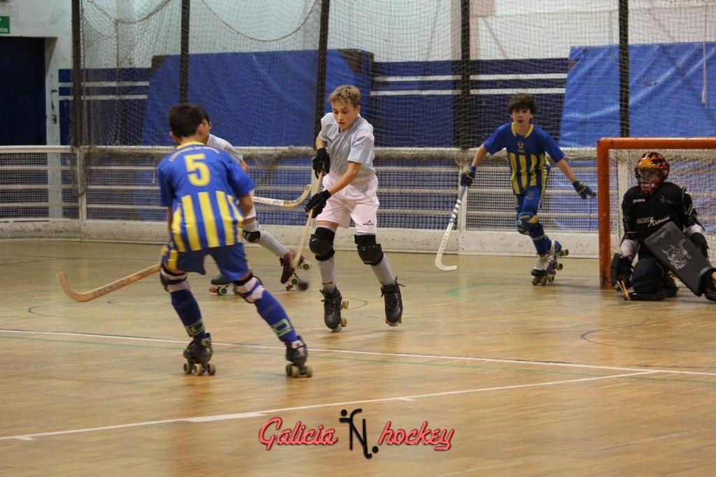 Liga Autonómica temporada 2015-2016 Alevín 1ª Compostela A- Compañía de María A 05-12-2015