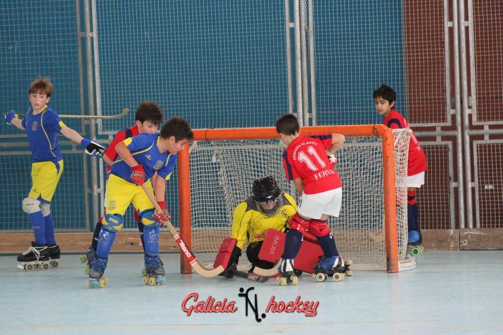 Liga Autonómica temporada 2015-2016 Benjamín 1ª Compañía de María A- Club CM Hockey Ferrol A