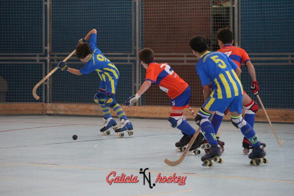 Liga Autonómica temporada 2015-2016 Alevín 1ª  Compañía A – Hockey Club Raxoi