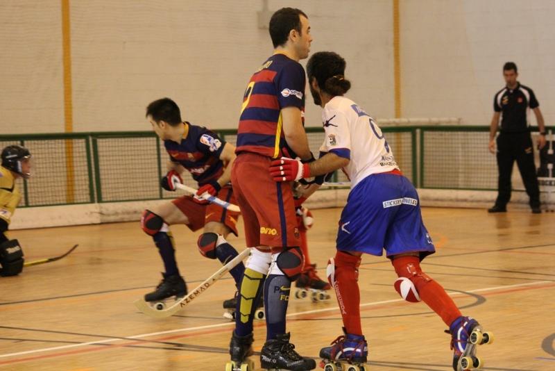 Hockey a patines OK liga Clube Patín Cerceda –  FC.Barcelona