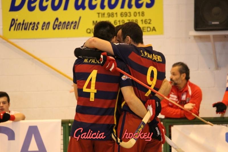 El duelo Igualada HC – FC Barcelona Lassa, un clásico de casi noventa partidos.